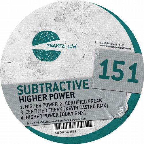 Subtractive - Higher Power [TRAPEZLTD151]
